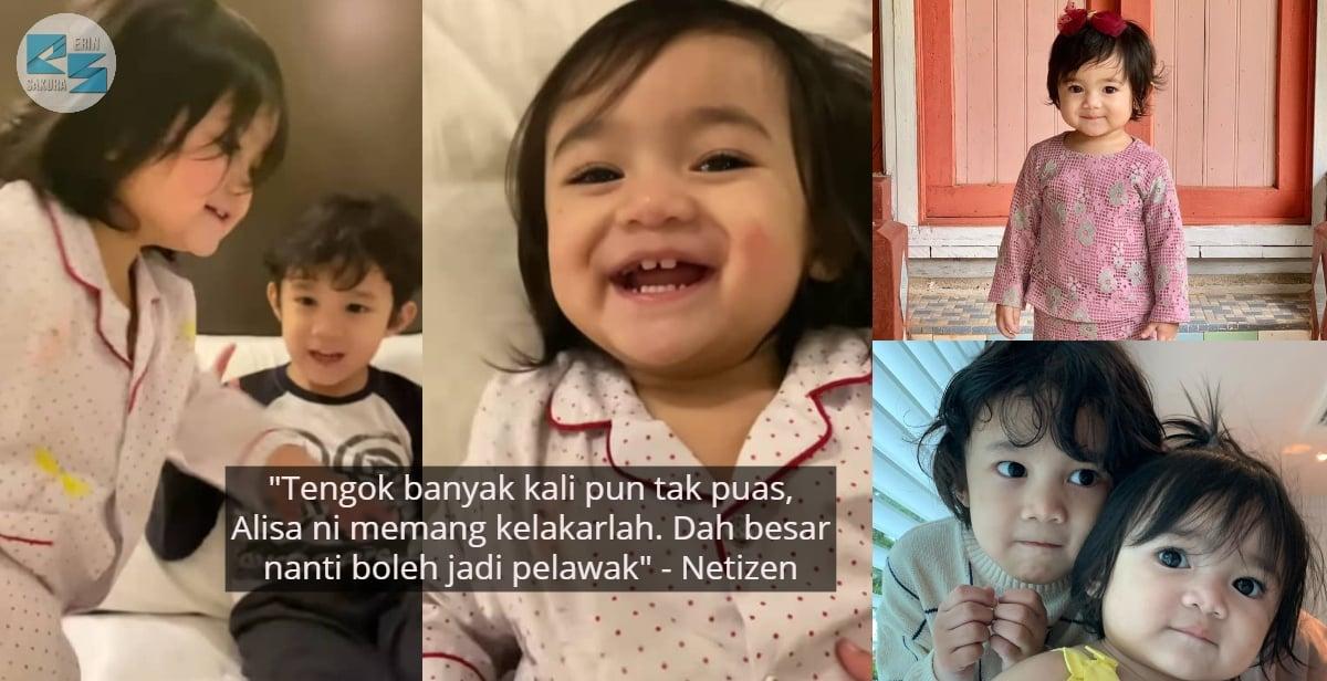 """My Name Ali Abang"" – Alisa Aisyah Bikin Ramai 'Geram' Suka Sakat Abang Yusuf"
