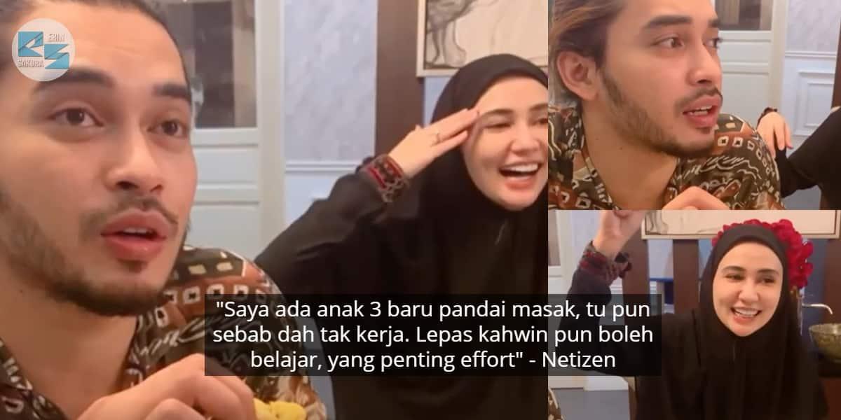 "Aeril Zafril 'Kantoikan' Wawa Zainal Tak Tahu Masak – ""Janji Pandai Cari Duit"""