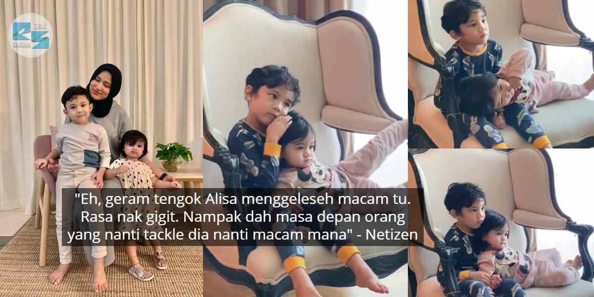 """[VIDEO] """"Sebijik Pak Dia"""" – Alisa Meleset Manja, Respons Yusuf Dipuji Penyayang"""