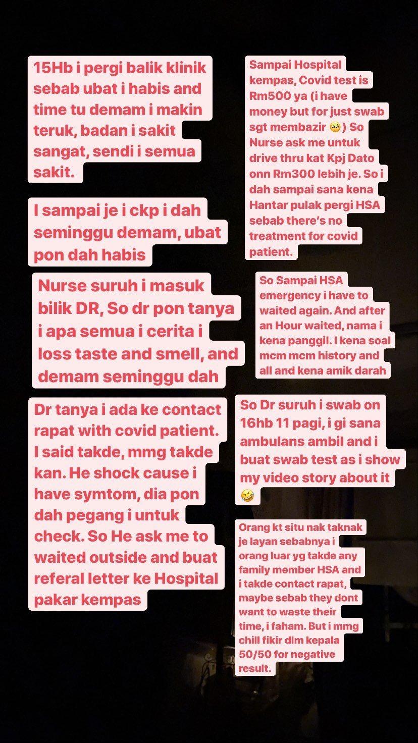 Doktor Ingat Tanda Demam Denggi, Gadis Tak Sangka Rupanya Positif COVID-19