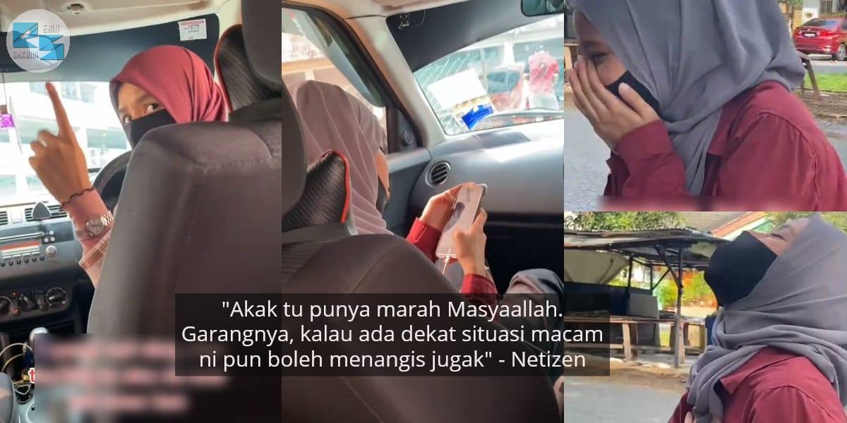 [VIDEO] Adik Kakak Bertekak Dalam Kereta, Member Cuak Nangis Ada Plot Twist