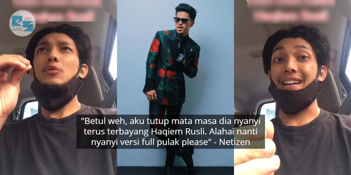 [VIDEO] Pemuda Ajar Tiru Suara Haqiem Rusli, Tak Sangka Bila Nyanyi Sama Habis