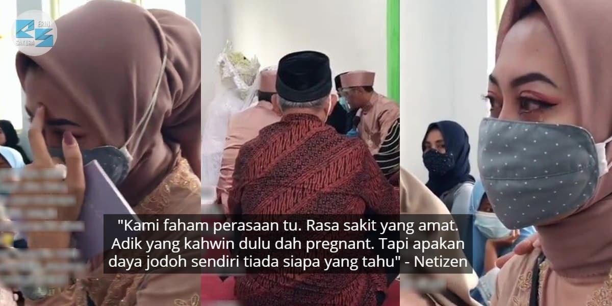 "[VIDEO] ""Ingatkan Saya Kuat""-Gadis Menangis Adiknya Langkah Bendul Kahwin Dulu"