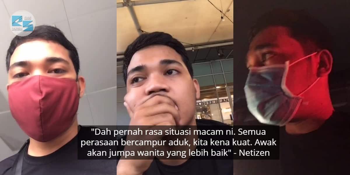 [VIDEO] Ajak Jumpa Nak Bagi Penjelasan, Pemuda Kecewa Ex-GF Tak Tepati Janji