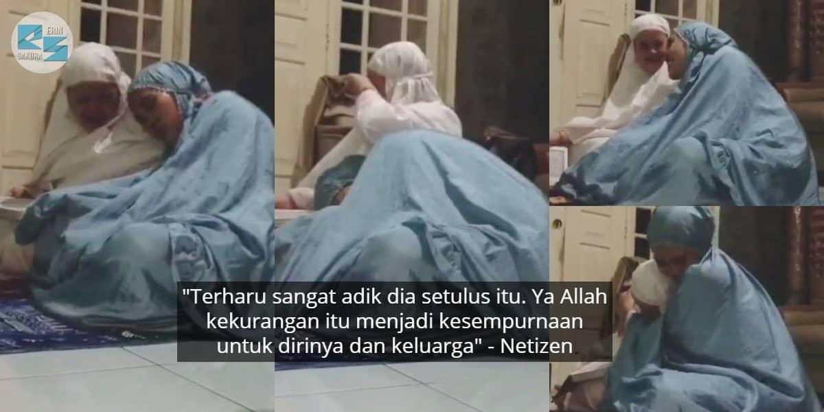 [VIDEO] Pura-Pura Pengsan Lepas Solat, Respon Anak Syurga Buat Ramai Sebak