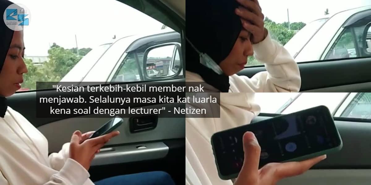[VIDEO] Tengah Syok Makan Dalam Kereta, Member Gelabah Kena Soal Lecturer
