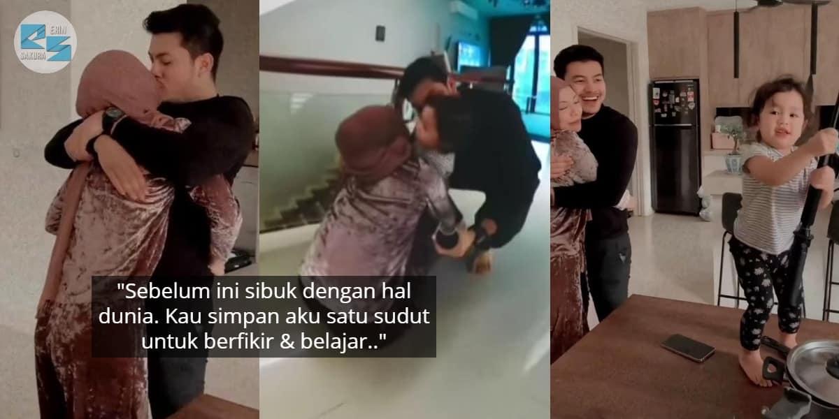 """Rindu Bau Isteri & Anak"" – 10 Hari Kuarantin Hafiz Mahamad Bebas COVID-19"
