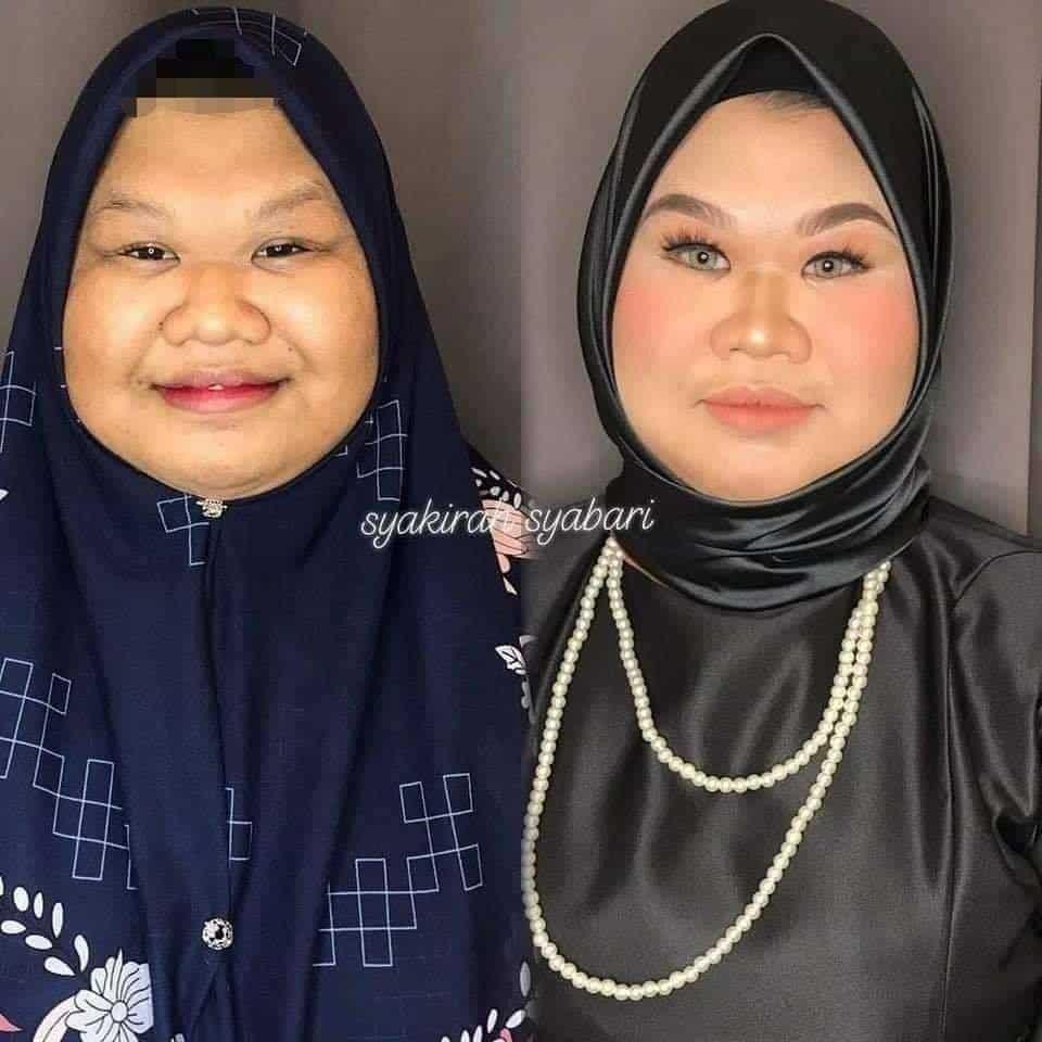 Pernah Dikecam Ketika Live Makeup, Gadis Tampil Dengan Transformasi Baru