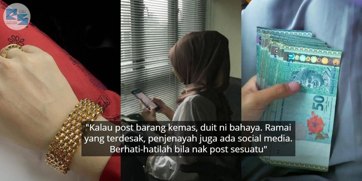Elak 'Show-Off' Harta Benda Di Media Sosial, Tak Semua Orang Simpan Niat Baik