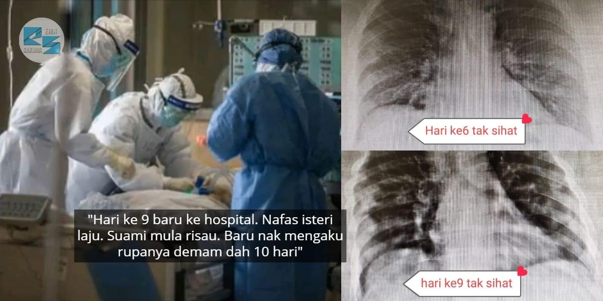 Suami Tak Percaya COVID-19, Telan 'Bergelen' Vitamin C Kini Isteri Sedang Nazak