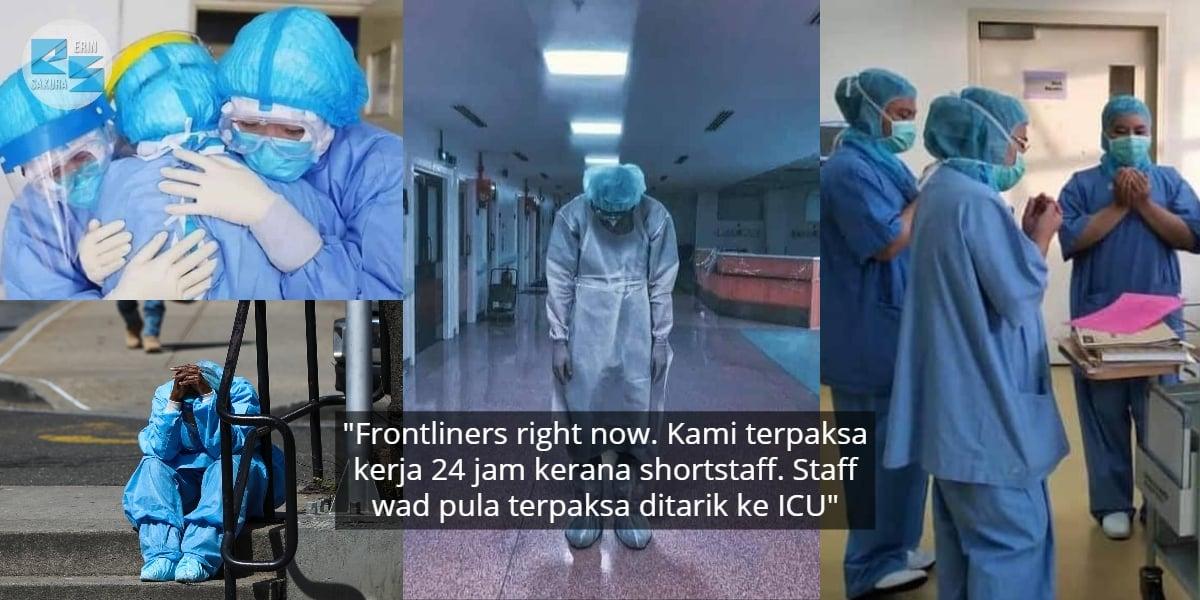 """Kita Dulu Hampir Menang""-Team Medik Rayu Ikut SOP Sebelum Mereka 'Jatuh'"
