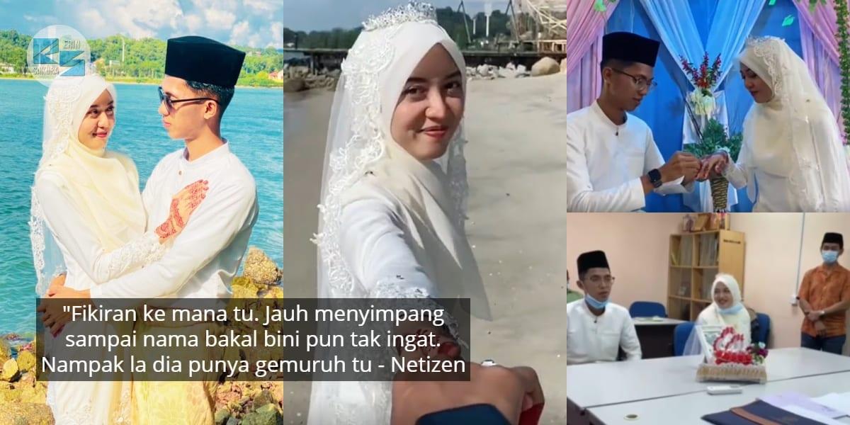 [VIDEO] Tersasul Sebut Nama Isteri Jadi 'Muhammad', Lelaki Sebut Akad 4 Kali