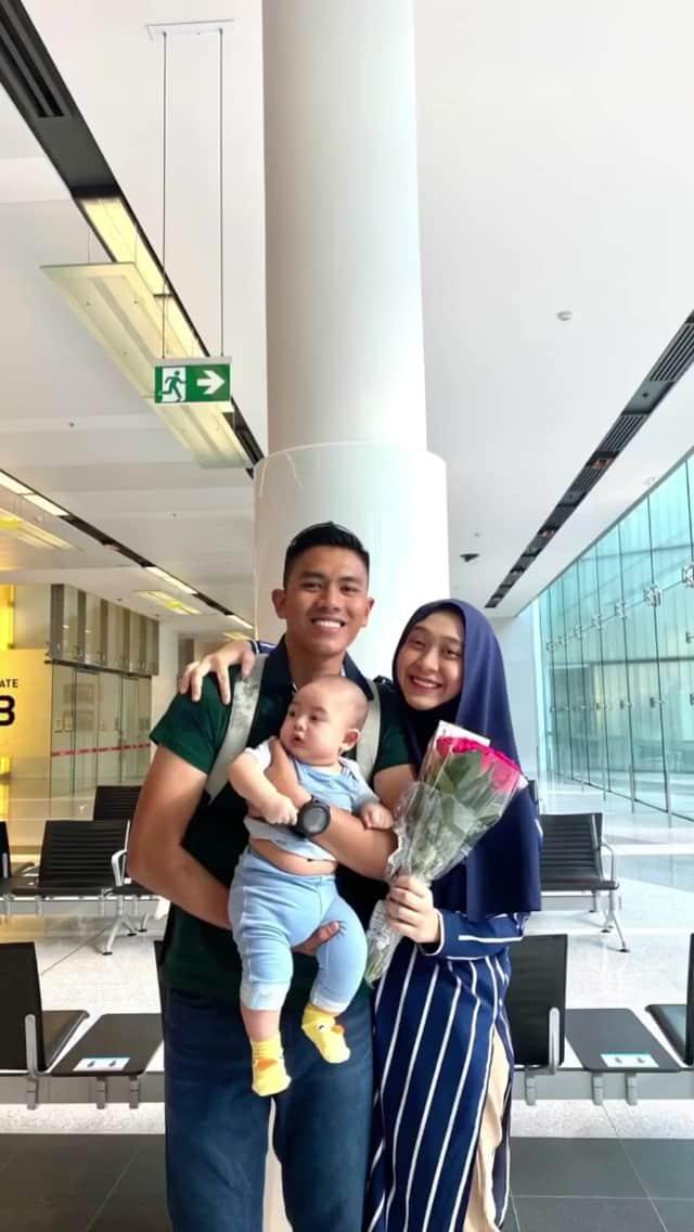 [VIDEO] 377 Hari Menanti, Suami Sambut Dayah Bakar & Anak Berlinangan Air Mata